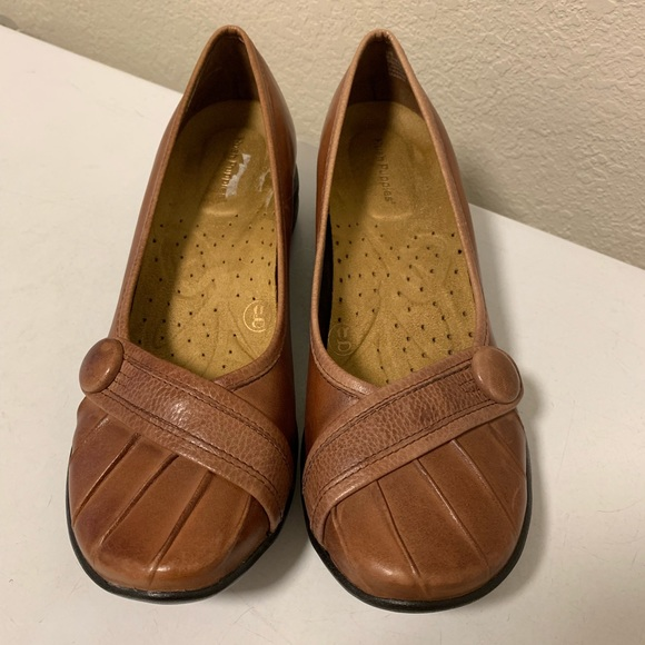 3b3368f586c23 Hush Puppies Shoes - Hush Puppies Sonnet Brown Leather Flats